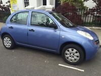Nissan Micra 1.3 Petrol Automatic Light Blue 5 Door SE 1 Owner Full Service History