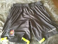 West Ham GK Shorts - Excellent Condition - Size 3XL