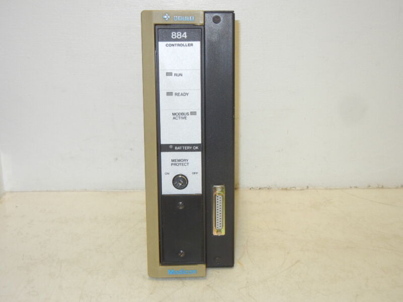 GOULD MODICON AS-884A-301 USED PROGRAMMABLE CONTROLLER AS884A301