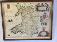 Historic prints of Wales and Flintshire
