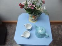 shabby chic 2 tier coffee table