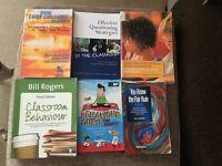 Childcare/Teaching Degree Books (All 15)