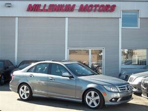 2009 Mercedes-Benz C-Class C300 4MATIC / LEATHER / SUNROOF