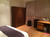 LARGE ROOM in Harrow/Wembley WITH DOUBLE BED FOR SINGLE PERSON