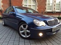 2005 Mercedes-Benz 1.8 C180 Kompressor Avantgarde AUTOMATIC ++ FULL BLACK LEATHER ++ IMMACULATE