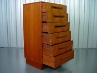 Retro G-Plan Chest Of Drawers Vintage Furniture