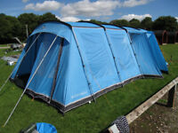 VANGO MONTE VERDE 700 FRAME TENT FOR SALE, LEICESTERSHIRE