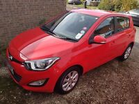62 plate Hyundai i20 only 17000 miles, mot and serviced September, very good condition