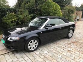 Audi A4 convertible 2006