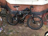 80cc motorised bike