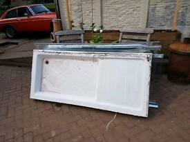FREE Double shower base tray