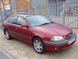 2001 (51 reg) Toyota Avensis CDX 5dr★★★LEATHER★★★AIR CONDITIONING★★★SUNROOF★★★ALLOYS★★★SAT NAV★★★
