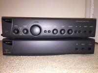 Arcam Alpha 9 Integrated Amplifier - £150; Arcam Alpha 8 Power Amp - £150; both for £275