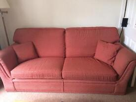 Two seater (Sofa Workshop) and three seater sofa can be sold separately.