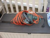 black and decker hedge trimmer for sale