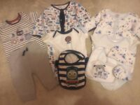 Used Baby Boy Girl Bundle Of 3-6 Months Clothes