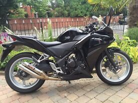 HONDA CBR250R -2012 MINT BIKE WITH IXIL EXHAUST SOUNDS GREAT MOT MARCH FINANCE ETC £2399