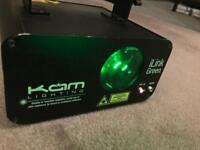 KAM iLink Green Laser (professional light for DJ, band, disco use)