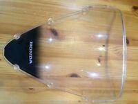 Honda CBR600 2006 front wind-screen visor