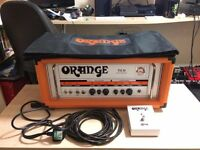 Orange TH30 head with cover, foot switch and cable