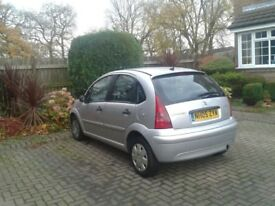 Citroen c3 2005 1.4 petrol New MOT