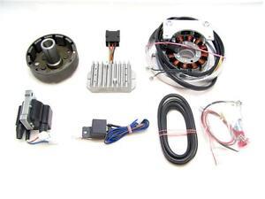 Puch 250 SG und 250 SGS, 12V/150W Powerdynamo Lichtmaschine+kontaktlose Zündung