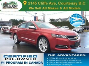 2015 Chevrolet Impala LTZ Navigation Sunroof Leather Heated Seat