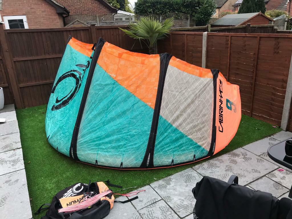 9m Cabrinha Nomad Kite complete with bar & lines
