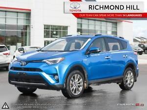 2016 Toyota RAV4 Hybrid 4DR SUV LIMITED