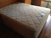 King Size 4 Drawer Divan Bed with Mattress (available 24th Feb)