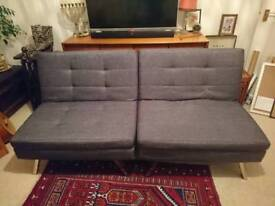 Clic clac sofa bed - barely used