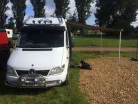 Mercedes sprinter camper/race van