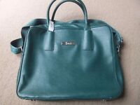 Harrods green shoulder bag