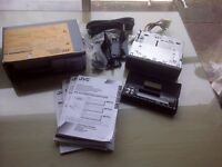 JVC RCD Radio and 12 CD Autochanger.