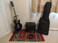 Satellite Les Paul Guitar beginners pack.