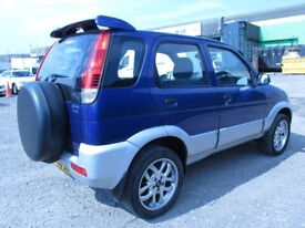 2006 DAIHATSU TERIOS 1.3 PETROL 5DOOR SPORT MANUAL FULL SERVICE HISTORY,