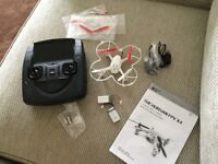 Hubsan FPV Mini Quadcopter drone with camera and video transmitter.