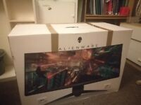 Dell Alienware curved 34 gaming monitor
