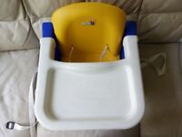 Second hand babychair for sale immediately