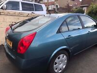 Nissan primera 1.8 2003/03 *** Only 70K miles from new***