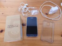 Samsung Galaxy S5 Tesco - 16GB - Black (Cracked Screen But Works Perfectly)