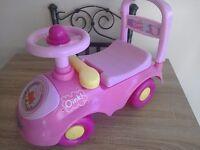 Peppa pig ride on truck