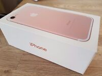 iPhone 7 128gb vodaphone rose gold