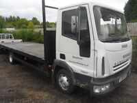 IVECO EURO CARGO 75E17 06 REG 1 COMPANY OWNER 20FT FLAT BED FULL TEST BIRTLEY CAR SALES DH3 1PR