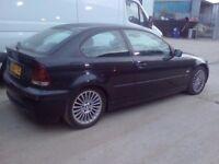 BMW 320D COMPACT 6 SPEED M KIT