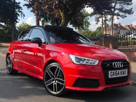 2014 64 AUDI A1 S1 CONVERSION PERFORMANCE PACK EVERY EXTRA BUCKETS JUKEBOX PAN ROOF S1 SPEC PX