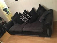 4 seater sofa and 2 chairs