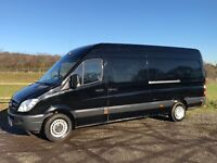 MERCEDES SPRINTER 313 CDI LWB DIESEL 2011 11-REG ONLY 125,000 MILES WITH FULL SERVICE HISTORY