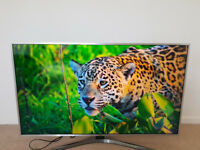 "Samsung UE49MU6400 49"" inch 2160p 4K Ultra HD LED LCD SMART Television TV - MINT"