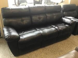 Power Leather Recliner Sofa  and Love Seat and Chairs